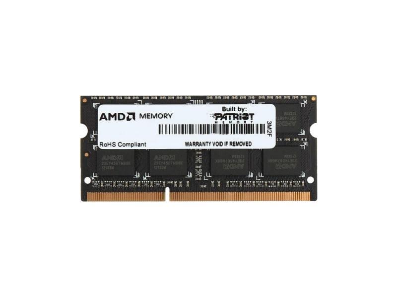 Оперативная память для ноутбуков SO-DDR3 8Gb PC12800 1600MHz AMD R538G1601S2S-UO