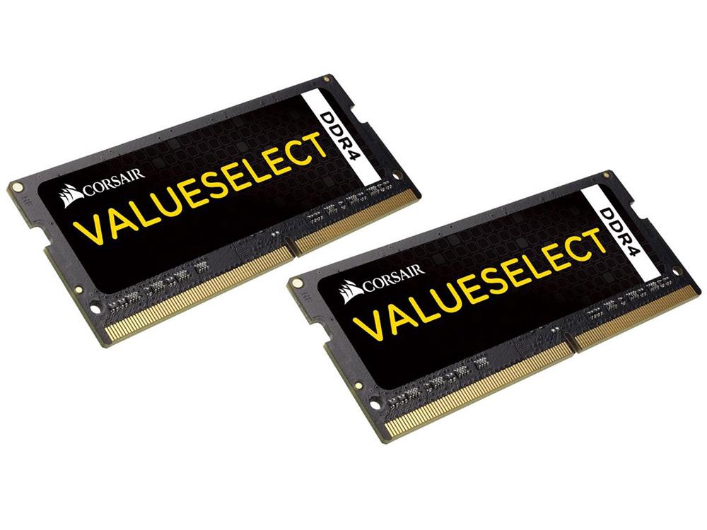 Оперативная память для ноутбуков Corsair ValueSelec CMSO16GX4M2A2133C1 SO-DIMM 16GB (2x8GB) DDR4 2133MHz