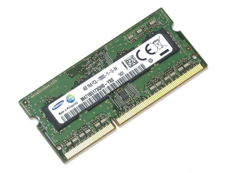 Оперативная память для ноутбуков SO-DDR3 4Gb PC12800 1600MHz Samsung original