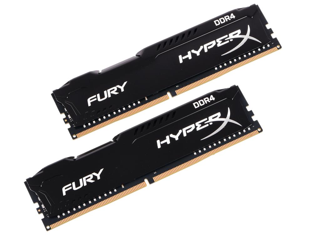 Оперативная память Kingston HX424C15FBK2/8 DIMM 8GB (2x4GB) 2400MHz kingston hx318c10fr 8