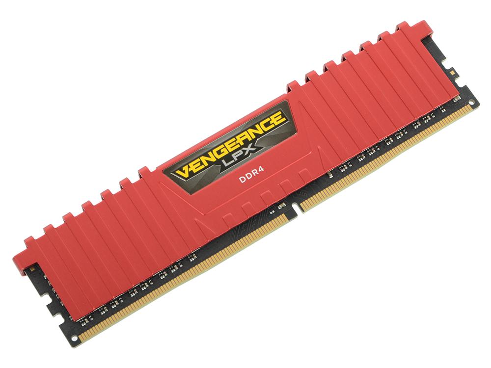 Картинка для Оперативная память 4Gb PC4-19200 2400MHz DDR4 DIMM Corsair CMK4GX4M1A2400C14R
