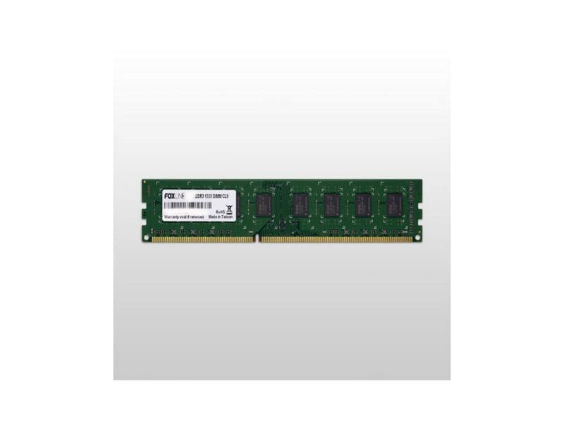 Оперативная память Foxline FL1333D3U9-8G DIMM 8Gb DDR3 1333MHz DIMM 240-pin/PC-10600/CL9 цена