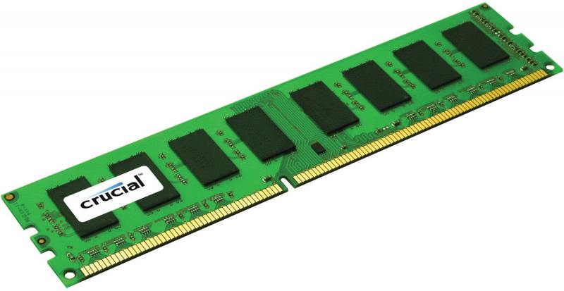Оперативная память 8Gb PC3-12800 1600MHz DDR3L DIMM Crucial CT8G3ERSLS4160B