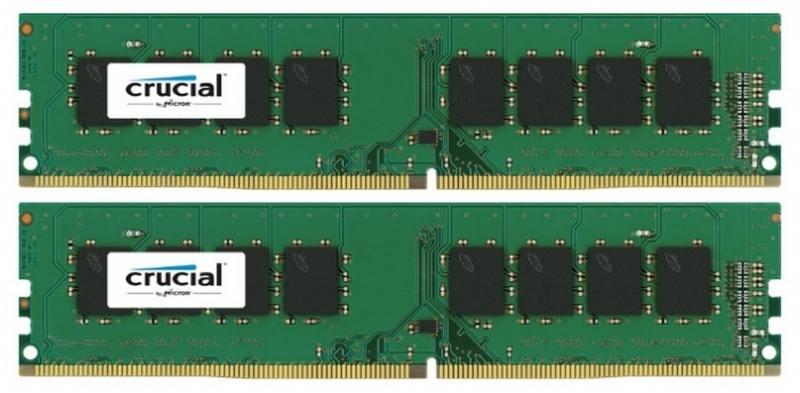 Оперативная память 16Gb PC4-17000 2133Hz DDR4 DIMM Crucial CT2K8G4DFS8213