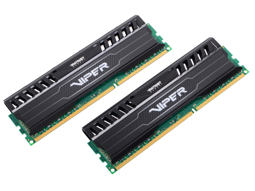 Память 16Gb (2x8Gb) PC3-12800 1600MHz DDR3 DIMM Patriot Viper3 PV316G160C0K память ddr3 2gb 1600mhz patriot psd32g16002 rtl pc3 12800