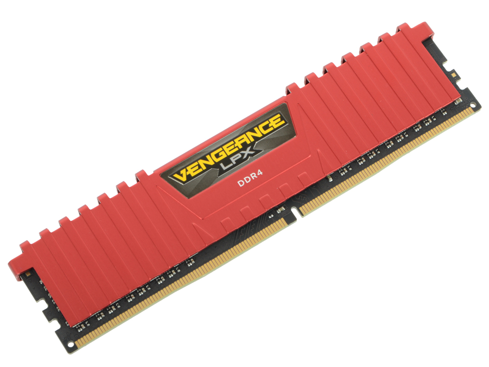 Оперативная память 8Gb PC4-19200 2400MHz DDR4 DIMM Corsair CMK8GX4M1A2400C16R оперативная память 16gb 2x8gb pc4 19200 2400mhz ddr4 dimm corsair cmk16gx4m2z2400c16