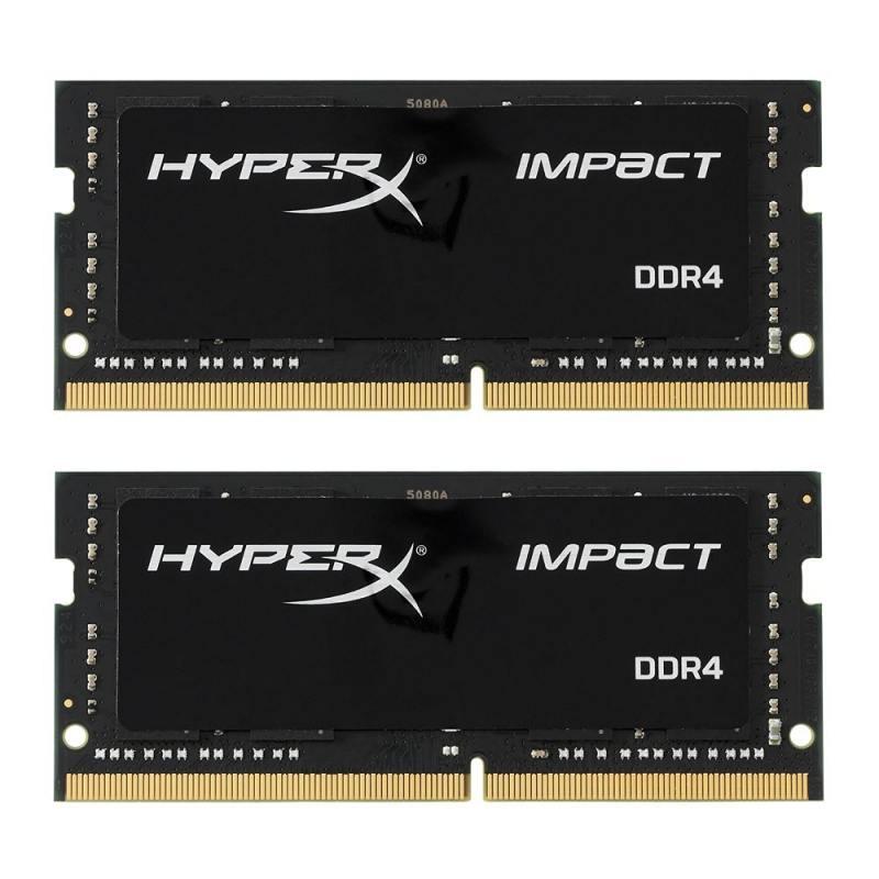 Оперативная память для ноутбуков SO-DDR4 32Gb (2x16Gb) PC19200 2400MHz Kingston HX424S14IBK2/32 оперативная память для ноутбуков so ddr4 4gb pc19200 2400mhz kingston kcp424ss8 4