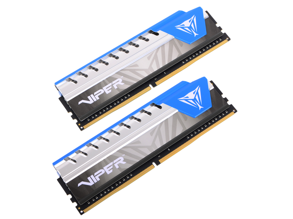 Память DDR4 16Gb 2x8GB (pc-24000) 3000MHz Patriot Viper4 Elite CL16 Black PVE416G300C6KBL