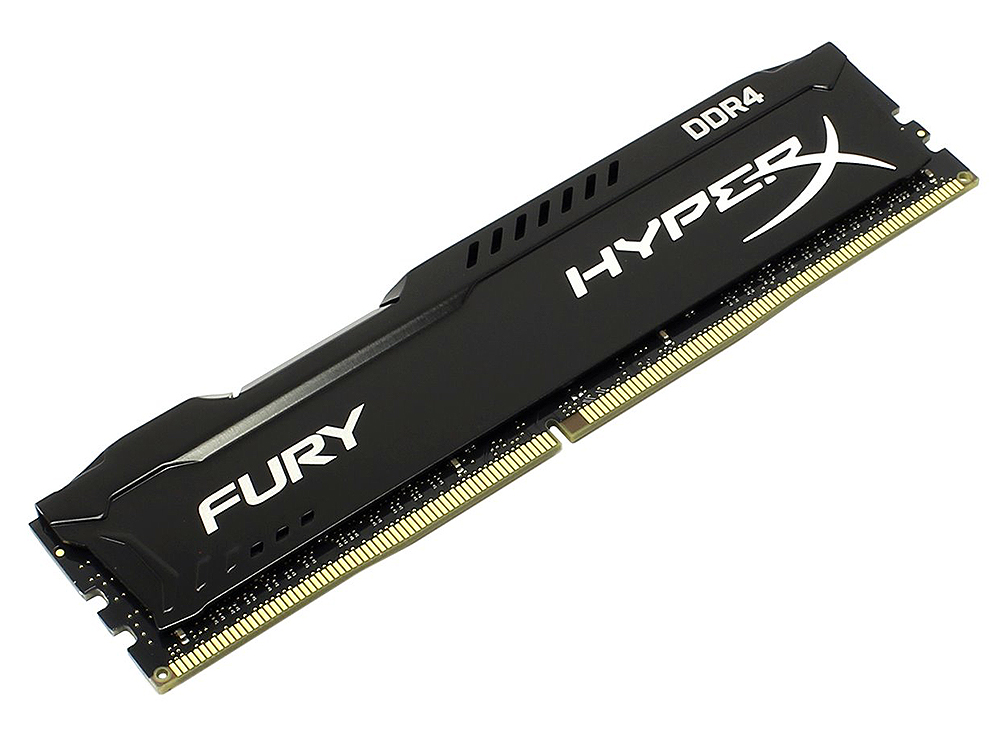 Память DDR4 8Gb (PC4-17000) 2133MHz Kingston HyperX Fury Black Series CL14 HX421C14FB2/8