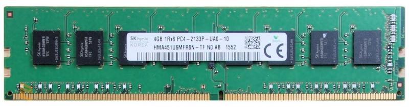 все цены на Оперативная память 4Gb PC4-17000 2133MHz DDR4 DIMM Hynix H5AN4G8NMFR-TFC