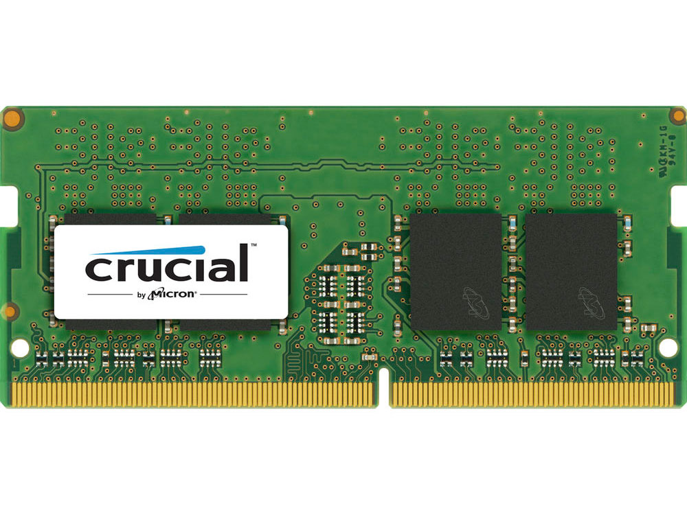 Память DDR4 4Gb (pc-19200) 2400MHz Crucial Single Rankx16 CT4G4SFS624A