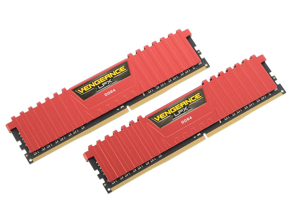 Оперативная память Corsair CMK16GX4M2A2400C16R DIMM 16GB(2x8GB) DDR4 2400MHz DIMM 288-pin/PC-19200/CL16