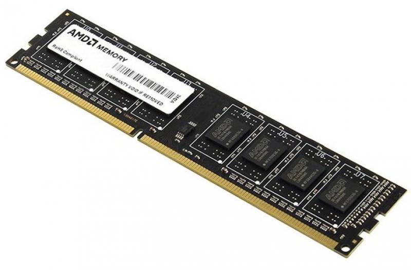 Оперативная память 8Gb PC4-17000 2133MHz DDR4 DIMM AMD R748G2133U2S-UO стоимость
