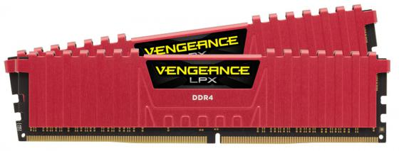 Оперативная память Corsair Vengeance LPX CMV4GX4M1A2666C18 DIMM 16GB (2x8GB) DDR4 3600MHz Retail оперативная память corsair vengeance lpx cmk32gx4m4a2400c16