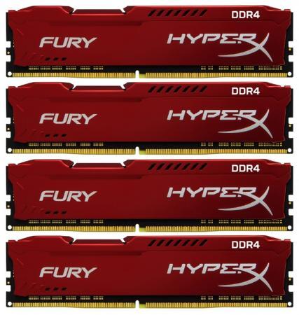Картинка для Оперативная память Kingston HX424C15FR2K4/32 DIMM 4x8Gb DDR4 2400MHz DIMM 288-pin/PC-19200/CL15
