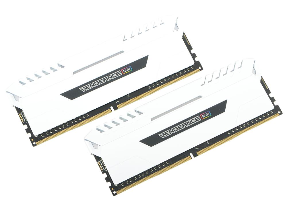 Оперативная память Corsair Vengeance RGB CMR16GX4M2C3200C16W DIMM 16GB (2x8GB) DDR4 3200MHz