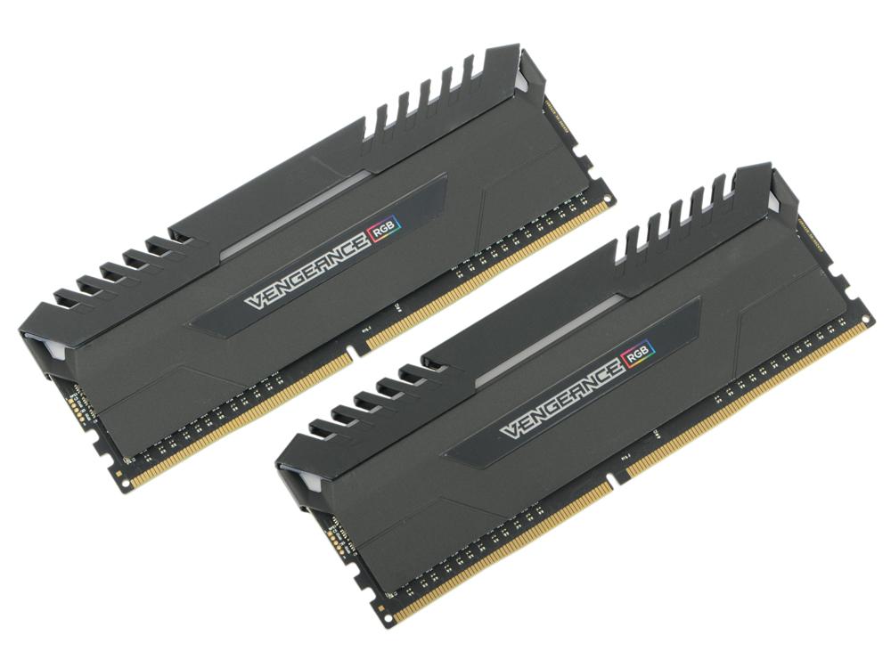 Оперативная память Corsair Vengeance RGB CMR16GX4M2C3200C16 DIMM 16GB (2x8GB) DDR4 3200MHz Retail