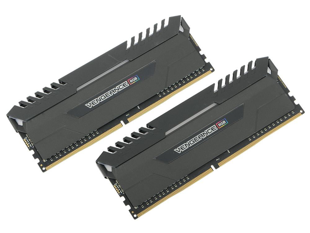 Оперативная память Corsair Vengeance RGB CMR16GX4M2C3000C16 DIMM 16GB (2x8GB) DDR4 3000MHz Retail