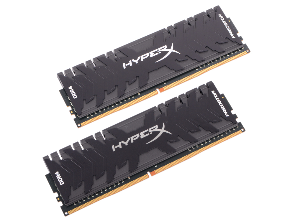 Оперативная память Kingston HX424C12PB3K2/16 DIMM 16GB (2x8GB) DDR4 2400MHz Retail DIMM 288-pin x 2/PC-19200/CL12 оперативная память corsair cmv8gx4m1a2400c16 dimm 8gb ddr4 2400mhz dimm 288 pin pc 19200 cl16