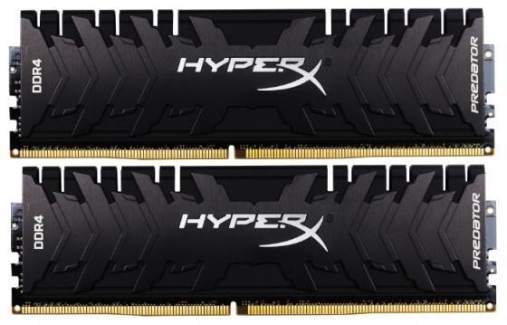 Оперативная память Kingston HX424C12PB3K2/16 DIMM 16GB (2x8GB) DDR4 2400MHz Retail DIMM 288-pin x 2/PC-19200/CL12 оперативная память kingston kvr24r17s4 16