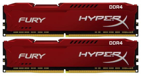 Оперативная память Kingston HX424C15FR2K2/16 DIMM 16Gb(2x8Gb) DDR4 2400MHz DIMM 288-pin/PC-19200/CL15 цена