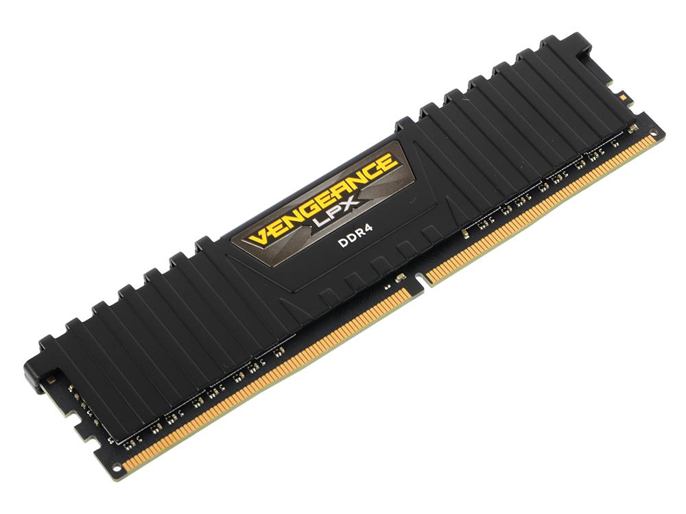 Оперативная память Corsair CMK8GX4M1C3000C16 DIMM 8GB DDR4 3000MHz DIMM 288-pin/PC-24000/CL16 оперативная память 128gb 8x16gb pc4 24000 3000mhz ddr4 dimm corsair cmr128gx4m8c3000c16w