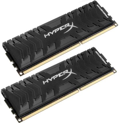 Оперативная память Kingston HX326C11PB3K2/8 DIMM 8GB(2x4GB) DDR3 2666MHz DIMM 240-pin/PC-21300/CL11 оперативная память 2gb pc3 10600 1333mhz ddr3 dimm kingston kvr13n9s6 2