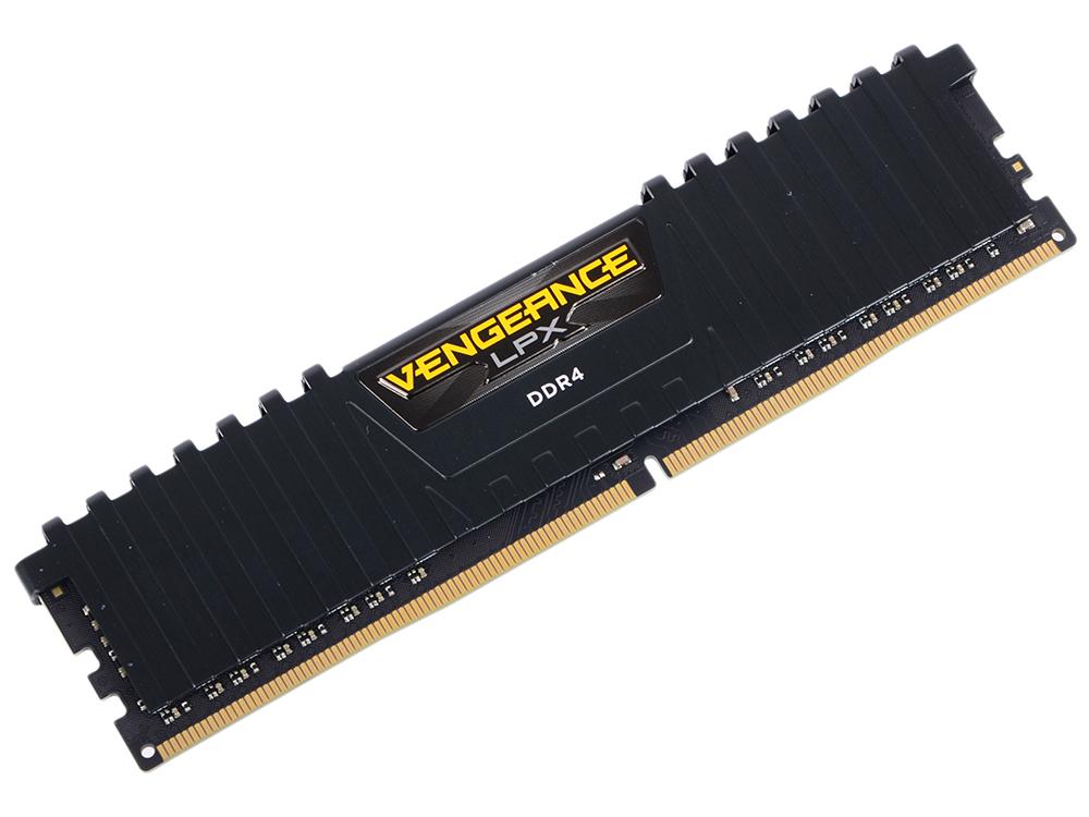 Оперативная память Corsair Vengeance LPX CMK8GX4M1D3000C16 DIMM 8GB DDR4 3000MHz Retail dimm ddr4 32гб 4x8гб corsair vengeance lpx black cmk32gx4m4a2400c16