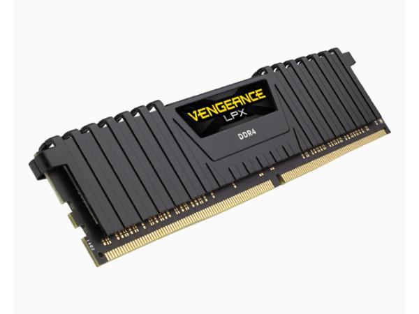 Оперативная память Corsair Vengeance LPX CMK16GX4M1D3000C16 DIMM 16GB DDR4 3000MHz оперативная память corsair vengeance lpx 2x8gb ddr4 dimm 3600мгц cl18 cmk16gx4m2b3600c18r