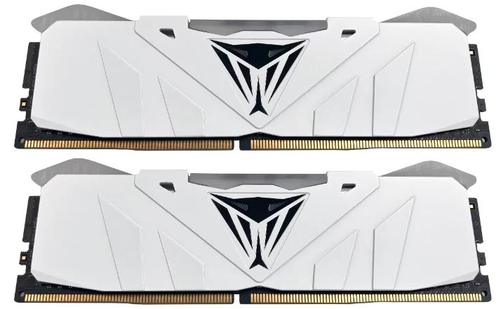 Память DDR4 16Gb 2x8GB (pc-21300) 2666MHz Patriot Viper4 White CL15 LED RGB PVR416G266C5KW fandyfire f102 r2 wc 5 mode 250lm white led memory flashlight 1x18650 1x17670 2x16340 2x123a