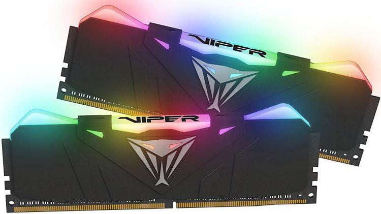 Оперативная память Patriot Viper4 Black PVR416G413C9K DIMM 16GB (2x8GB) DDR4 4133MHz Retail DIMM 288-pin x 2/PC-33000/CL19 топор patriot pa 356 t7 x treme [777001300]