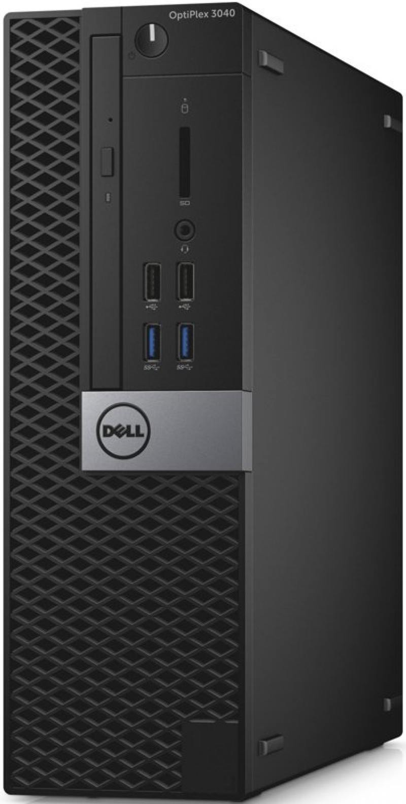 Системный блок DELL Optiplex 3040 SFF i3-6100 3.7GHz 4Gb 128Gb SSD HD530 DVD-RW Linux клавиатура мыш