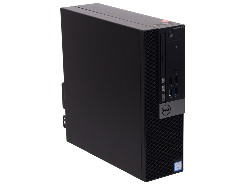 Системный блок DELL Optiplex 3040 SFF i3-6100 3.7GHz 4Gb 128Gb SSD HD530 DVD-RW Linux клавиатура мыш