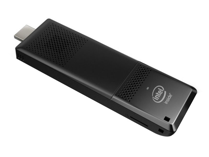 Мини-компьютер Intel Compute Stick STK1A32SC Atom-x5-Z8300 (1.44)/2GB/32GB eMMC/Int: Intel HD/WiFi/BT/DOS Black (BLKSTK1A32SC 946478)