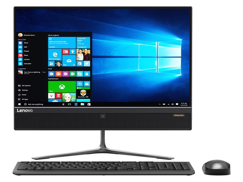 цена на Моноблок Lenovo IdeaCentre 510-22ISH i5-6400T (2.2GHz)/4GB/500GB/21.5 1920x1080/Int: Intel HD/DVD-SM/Wi-Fi/Kb+M/Win10 Black (F0CB00FURK)