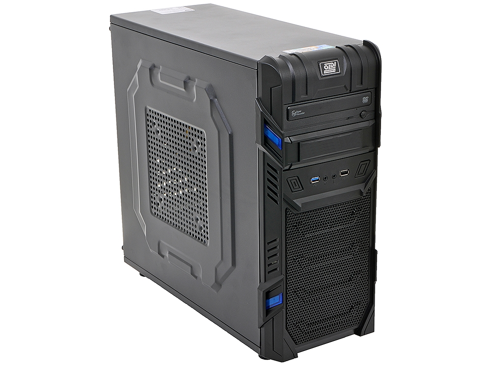 Компьютер Game PC 736)AMD FX-8370-E/16Gb/1Tb/6Gb GTX 1060/DVD±RW/Win10H SL 64-bit