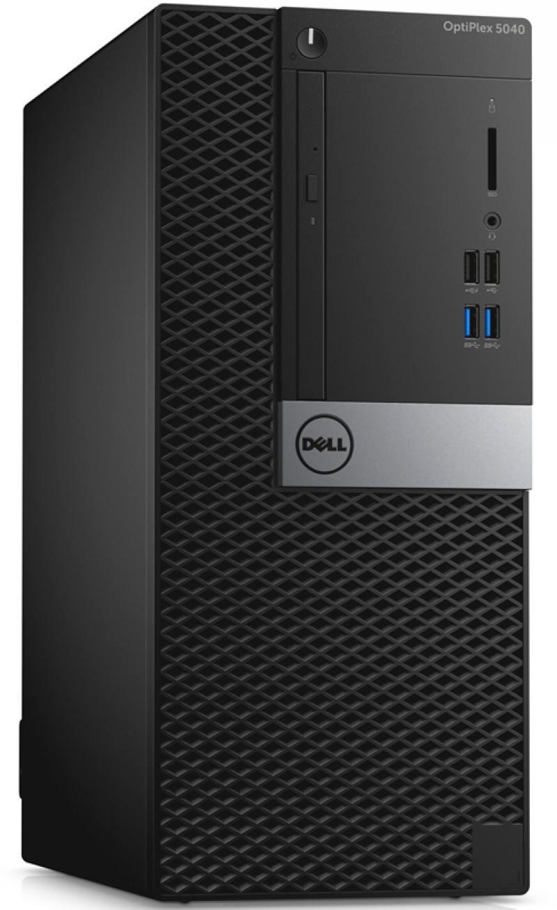 Системный блок Dell OptiPlex 5040 MT i5-6500 3.2GHz 8Gb 128Gb SSD HD530 DVD-RW Win7Pro Win10Pro клав