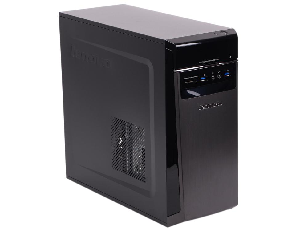 Системный блок Lenovo IdeaCentre 300-20ISH MT i3-6100 3.7GHz 4Gb 500Gb DOS черный 90DA00FCRS