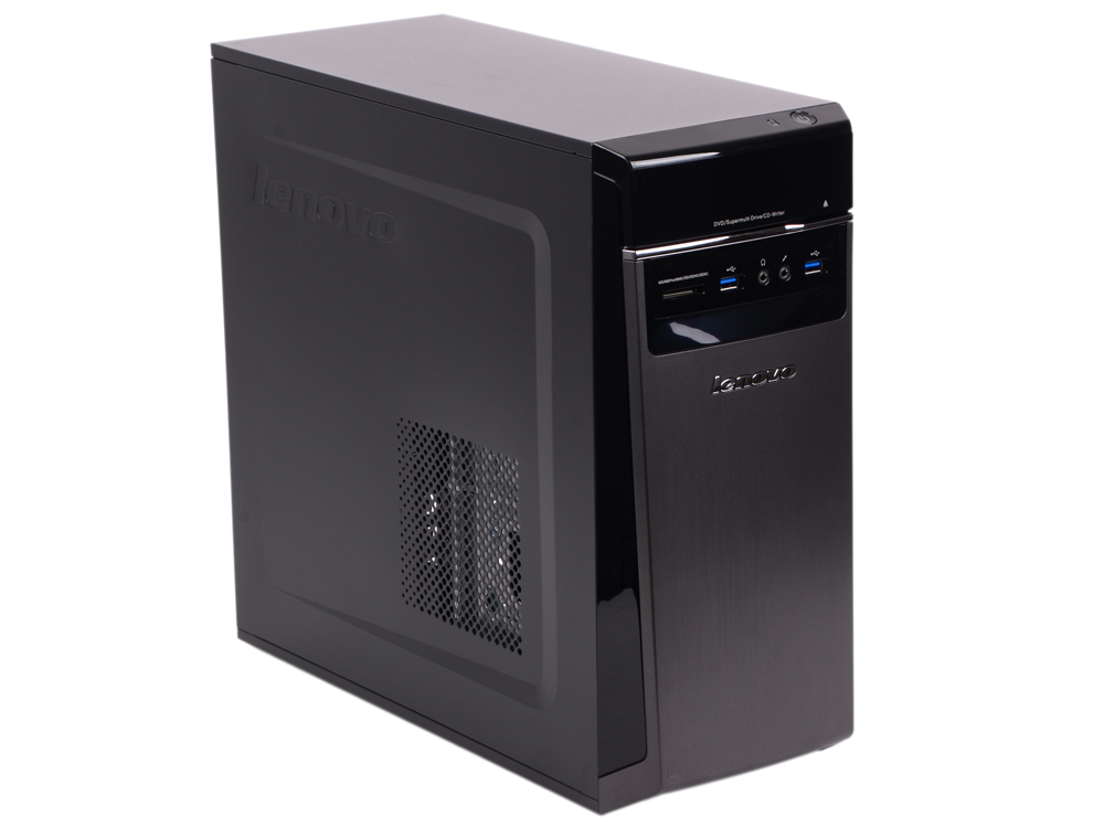 Системный блок Lenovo IdeaCentre 300-20ISH MT i3-6100 3.7GHz 4Gb 500Gb DVD-RW DOS черный 90DA0061RS