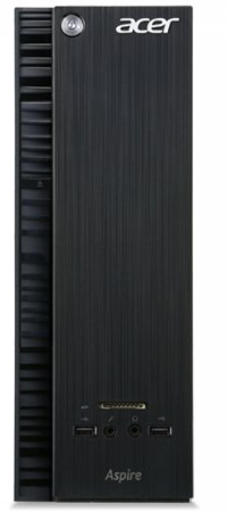 Системный блок Acer Aspire XC-704 N3050 1.6GHz 2Gb 500Gb Intel HD DVD-RW DOS клавиатуры мышь черный
