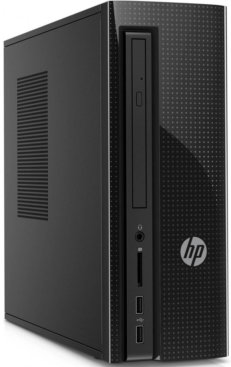 ПК HP 260 260-a102ur (Z0J78EA) E2-7110 (1.8)/4GB/500Gb/DVD-RW/KB+M/Win10 (Black)