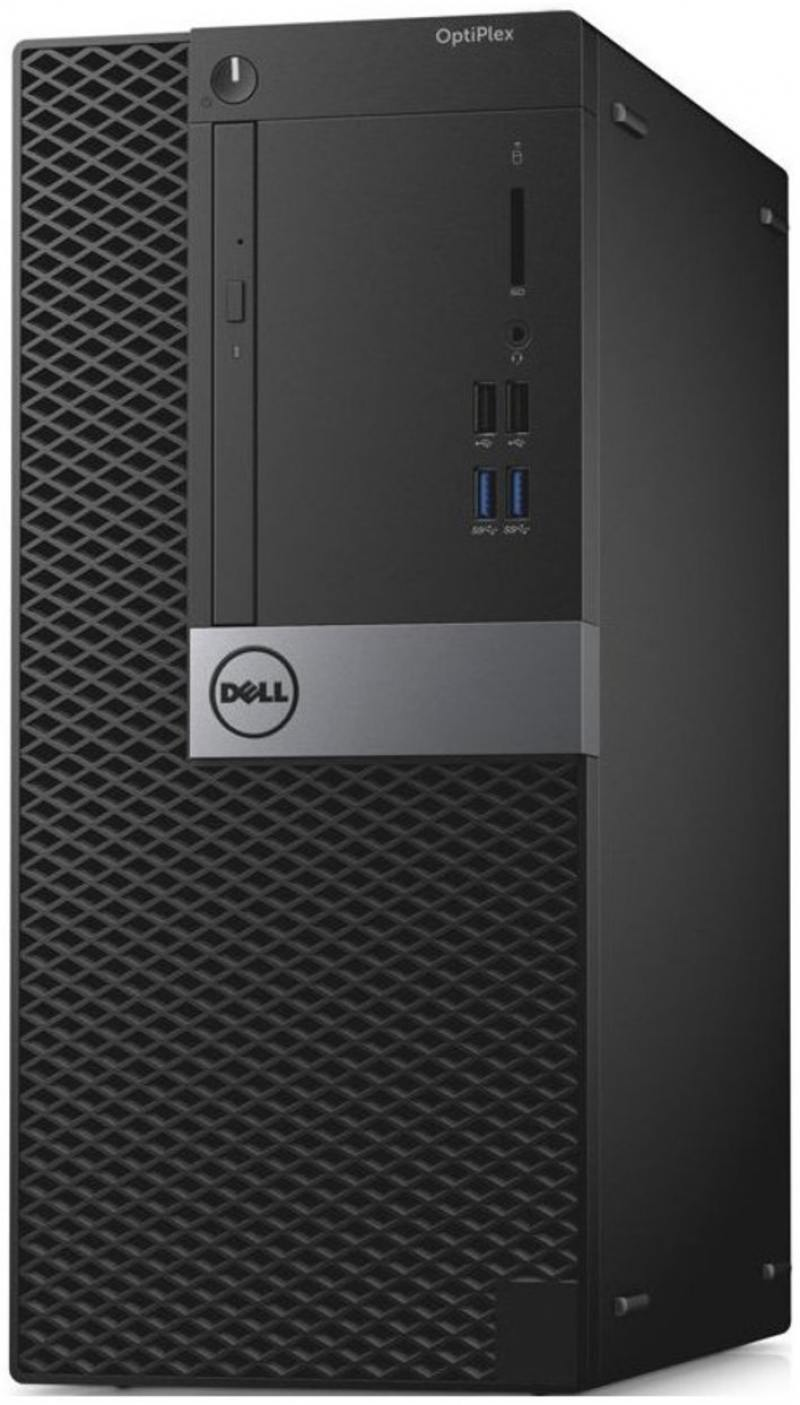 Системный блок DELL Optiplex 3046 MT (3046-8340) Pentium G4400 (3.3) / 4Gb / 500Gb / HD Graphics 510 / Win 10 Pro / Black
