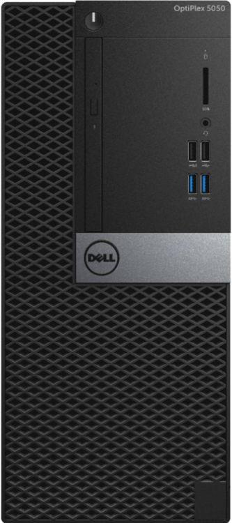 Компьютер DELL Optiplex 5050 MT (5050-8282) Black / i7-7700 3.6GHz / 8GB / 1TB / встроенная HDG / DVD-RW / Linux optiplex