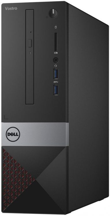 Системный блок DELL Vostro 3268 SFF G4560 3.5GHz 4Gb 500Gb HD610 DVD-RW Win10Pro клавиатура мышь чер