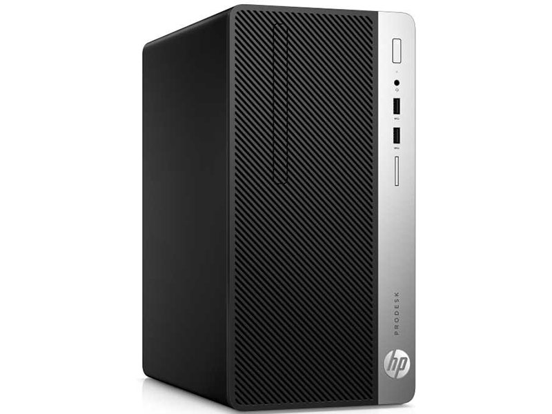 Компьютер HP ProDesk 400 MT (1KP07EA) i3-7100 (3.9)/4GB/256GB SSD/Intel HD 630/DVD-RW/Win10Pro компьютер hp 290 g1 mt 1qn73ea i3 7100 3 9 4gb 500gb int intel hd 630 dvd rw kb m dos black монитор v214a