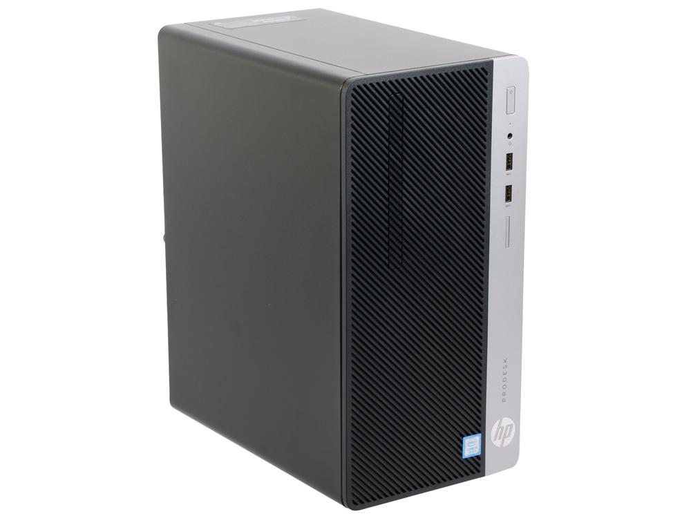 Компьютер HP ProDesk 400 G4 MT (1KP08EA) i5 7500 (3.4)/8GB/500GB/Intel HD 630/Eth/DOS Black десктоп hp prodesk 400g3 i3 6100 4 500 dos black