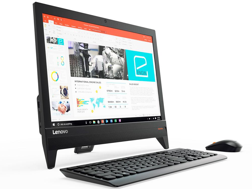 все цены на Моноблок Lenovo IdeaCentre 310-20IAP (F0CL005CRK) Celeron J3355 (2.0)/4GB/500GB/19.5
