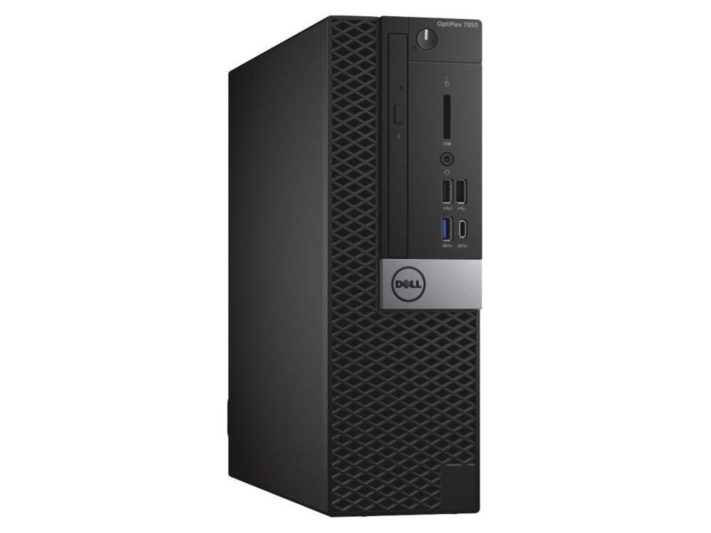 Системный блок DELL Optiplex 7050 SFF (7050-8336) i7-7700 (3.6)/8Gb/1TB/HD630/DVD-RW/KB/Mouse/Win10 Black моноблок dell optiplex 7450 core i7 7700 3 6ghz23 8 8gb 1tb dvd r7 m465x w10 pro 64 black 7450 3518