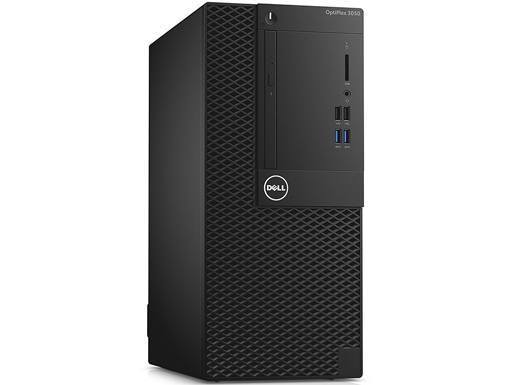 Компьютер DELL OptiPlex 3050 MT (3050-0337) i3 6100(3.7)/4GB/500GB/Intel HD 530/DVD-RW/Linux