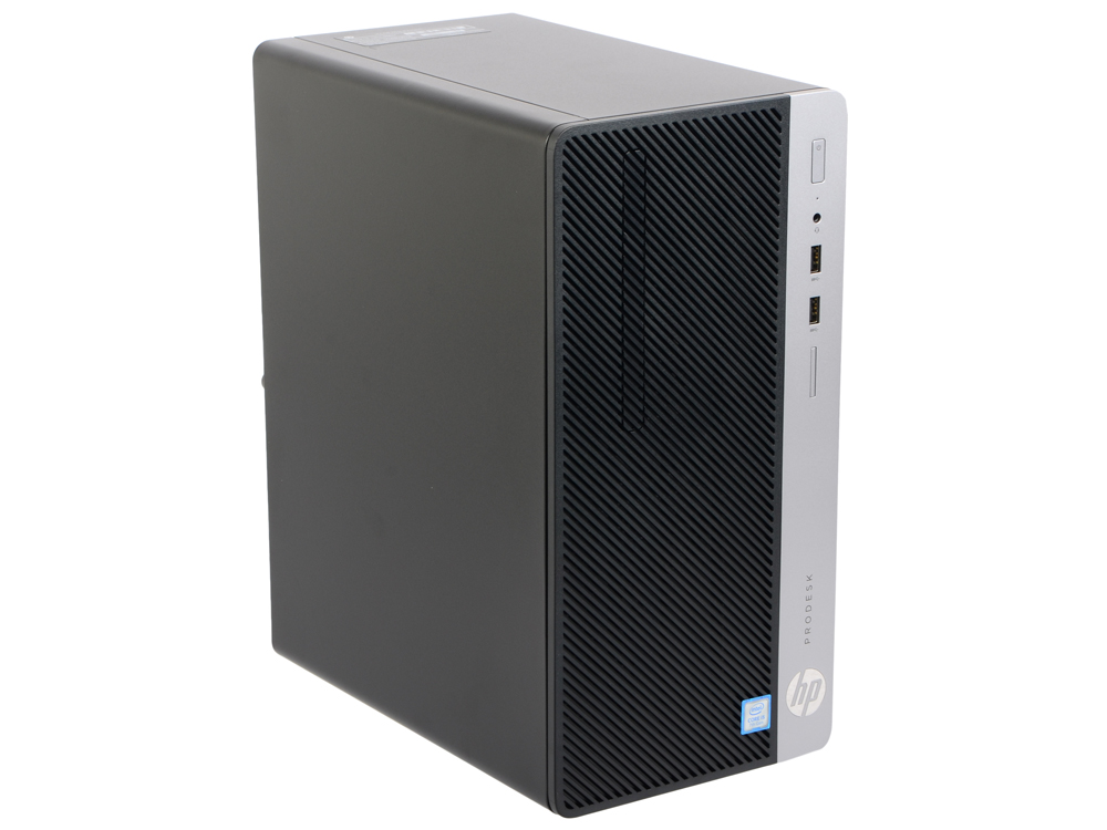 Компьютер HP ProDesk 400 G4 (1KN94EA) i5-7500 (3.4) / 4GB / 1TB / встроенная HDG 630 / DVD-RW / DOS / Black ноутбук hp 15 bs027ur 1zj93ea core i3 6006u 4gb 500gb 15 6 dvd dos black